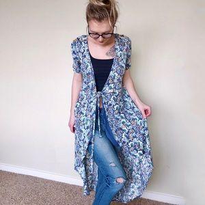 ASTR: Floral Wrap Dress